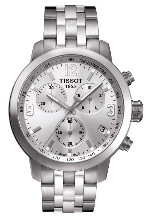 Pánske hodinky TISSOT T055.417.11.037.00 PRC 200 QUARTZ CHRONO + darček na  výber 0ebe4fa689c