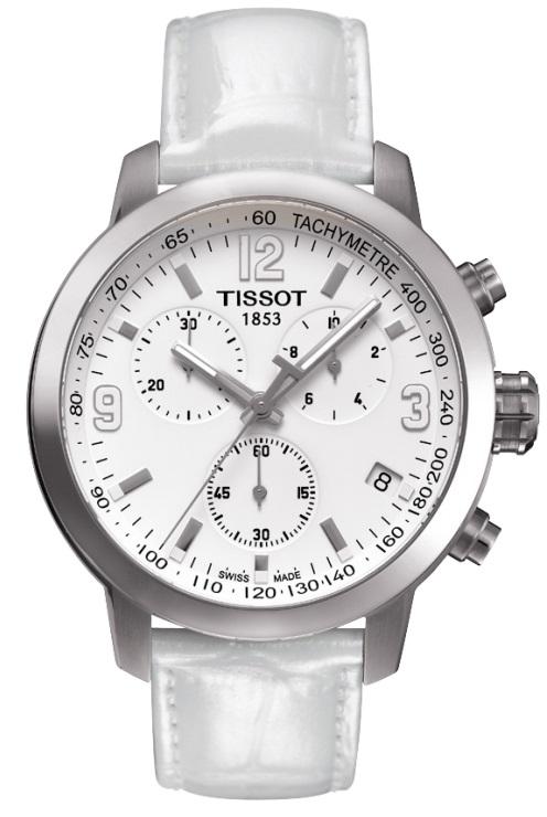 Pánske hodinky TISSOT T055.417.16.017.00 QUARTZ PRC 200 CHRONO + darček na  výber d5fe62380d6