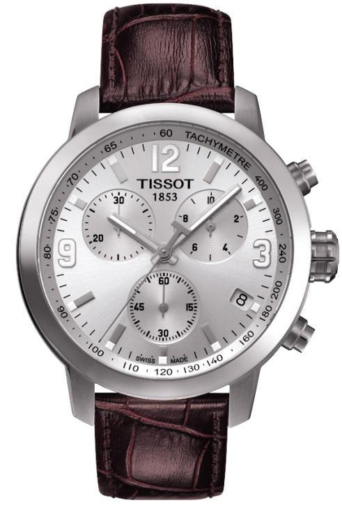 Pánske hodinky TISSOT T055.417.16.037.00 PRC 200 QUARTZ CHRONO + darček na  výber ... 1fc78ebcb2