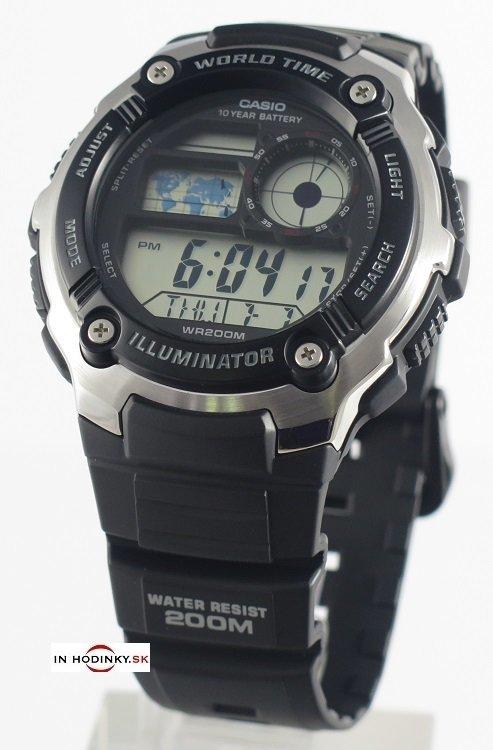 zväčšiť obrázok. Skladom. hodinky CASIO AE 2100W-1A + darček d9b71451c0e