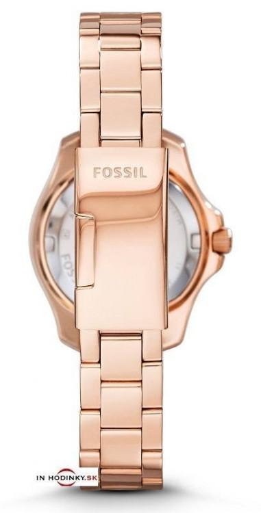 d4cd64066 Módne hodinky FOSSIL AM4578 Cecile Small Rose + darček na výber