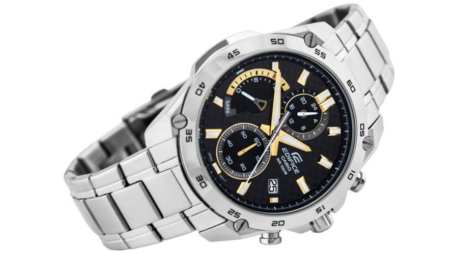 e4d995aab Pánske hodinky CASIO EDIFICE EFR 557CD-1A9 so stopkami