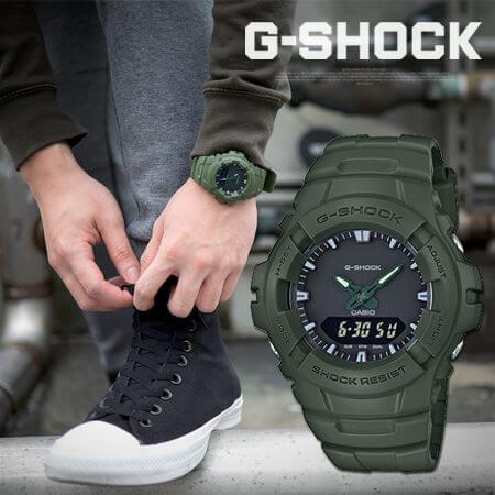Športové hodinky G-Shock CASIO G 100CU-3A 9201b8f58c7
