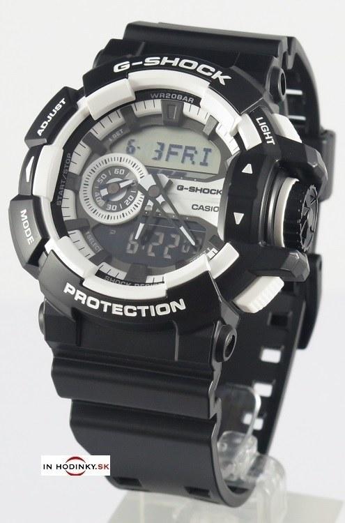 b315861fdb Pánske športové hodinky CASIO GA 400-1A G-Shock Gold s kombinovaným ...