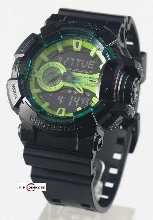 Športové hodinky CASIO GA 400LY-1A G-Shock + darček na výber 6bf5d1e1abc