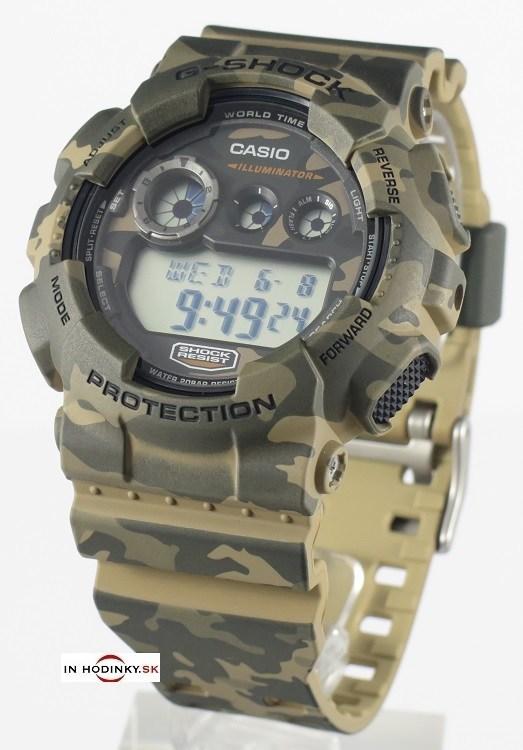 CASIO GD 120CM-5 G-Shock Camouflage Series + Darček  64df59db5c0