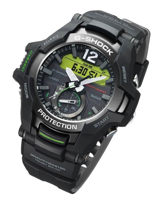 568a46b1a CASIO GR B100-1A3 G-Shock GRAVITYMASTER Bluetooth®