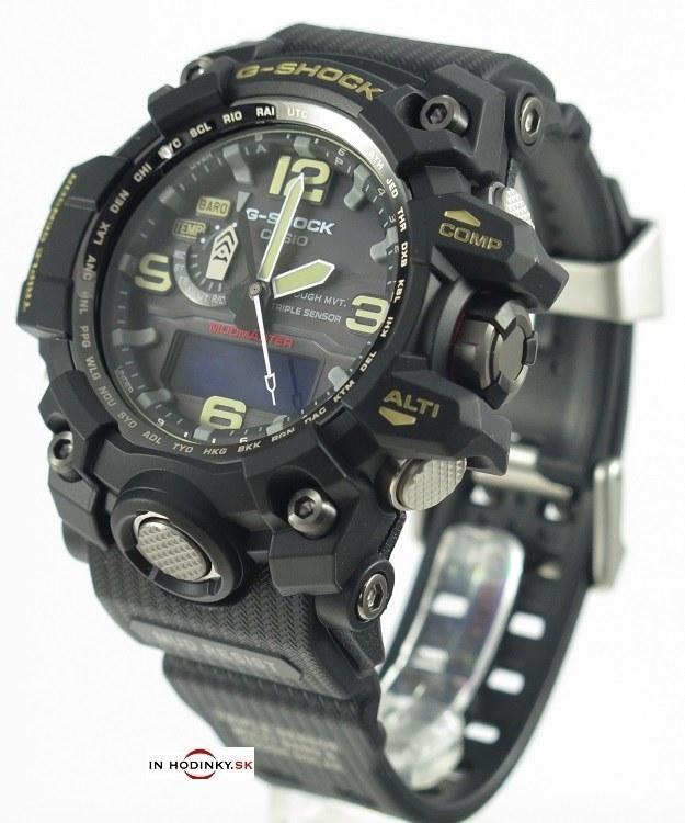 hodinky CASIO GWG 1000-1A G-Shock TRIPLE SENSOR + Draček na výber 75e73f71c5