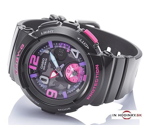 Dámske hodinky CASIO BGA 190-1B Baby-G + darček na výber 494a95a500