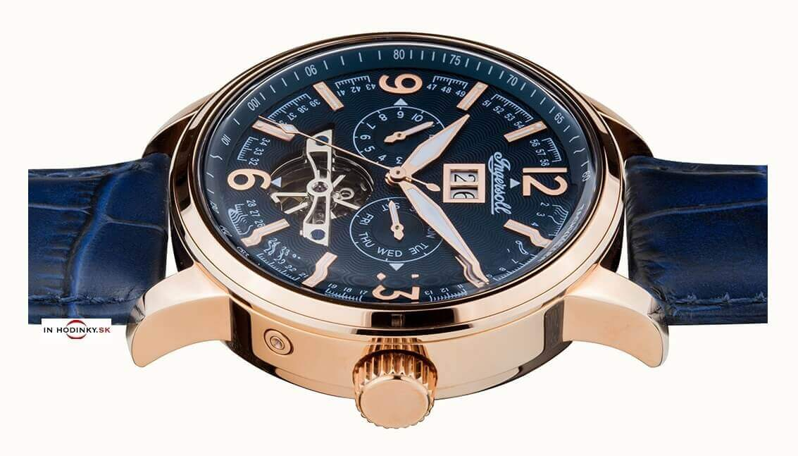 7e0e34c26 Pánske hodinky INGERSOLL I00301 Regent Automatic + darček na výber