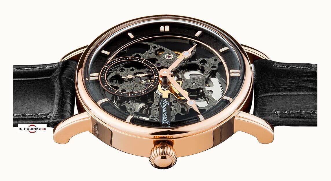 Pánske hodinky INGERSOLL I00403 Herald Automatic + darček na výber 38982056cf5