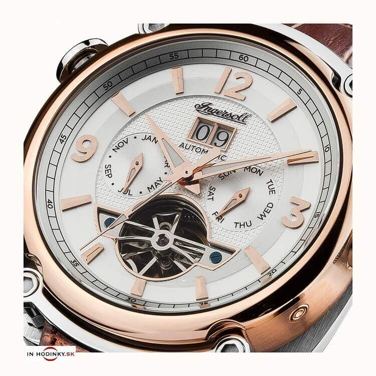 c6b8eaeef Pánske hodinky INGERSOLL I01103 Michigan Automatic + darček na výber