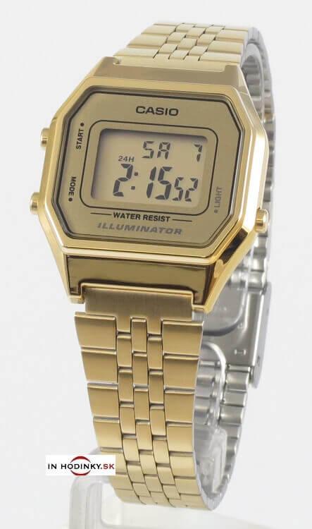 Hodinky CASIO LA 680GA-9 Collection dámske teenage hodinky 30697b54d90