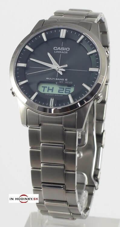 Titanové hodinky CASIO LCW M170TD-1A Tough Solar   Wave ceptor + Darček na  výber 196f457ca72