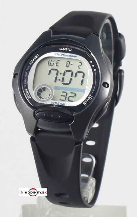 Dámske športové hodinky CASIO LW 200-1B 4aa9baca48e