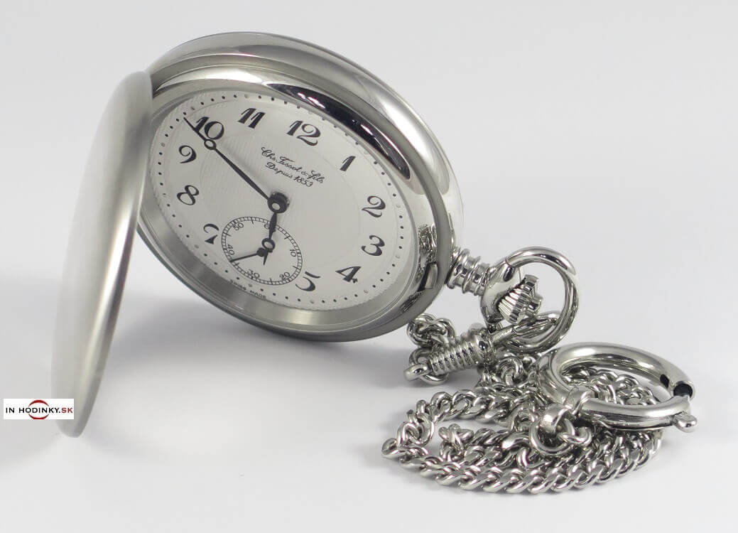 Vreckové hodinky TISSOT T83.7.407.32 Savonnette Mechanical + darček 9f3eeba132a