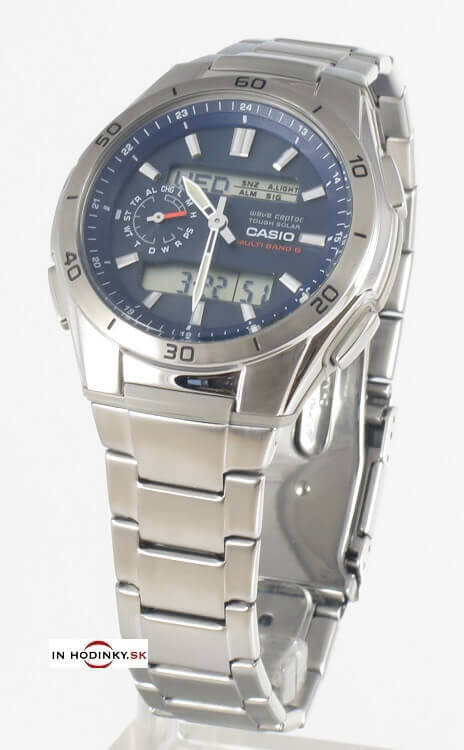 hodinky CASIO WVA M650D-2A Tough Solar   Wave ceptor + Darček na výber ab811b360b1
