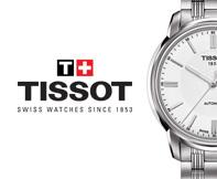 Hodinky TISSOT od autorizovaného predajcu s certifikátom originality hodiniek.