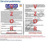 Dámske hodinky CASIO SHE 3066PG-2A SHEEN Swarovski® Crystals