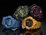 Hodinky CASIO G-Shock GBD 800-7 G-SQUAD Bluetooth®
