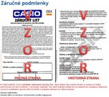 CASIO EQB 600D-1A2 Bluetooth® SMART + Darček v hodnote 30 Eur
