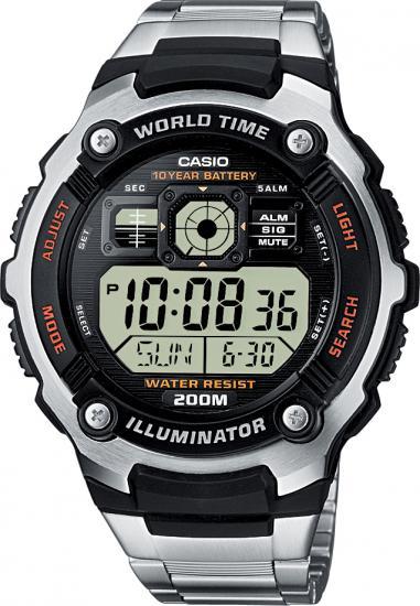 Pánske hodinky AE 2000WD-1A CASIO + darček zväčšiť obrázok 9eded872de5