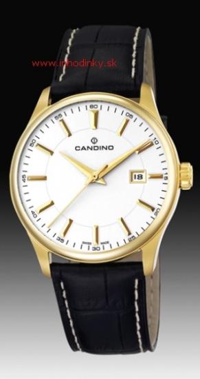 CANDINO - Pánske hodinky. CANDINO SAPHIR GOLD SAPHIRE c4457 2 zväčšiť  obrázok 0935a7ea00d