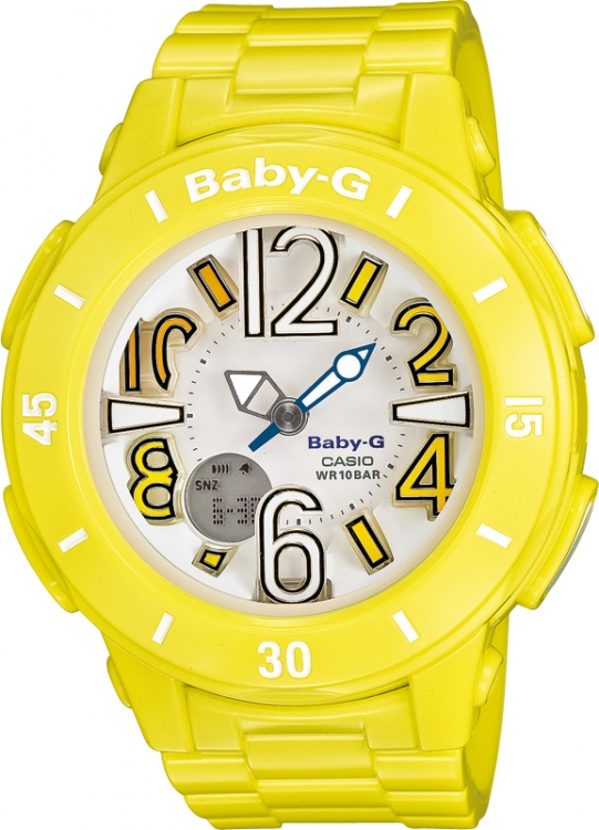 CASIO Baby-G BGA 170-9B Neon Illuminator + Darček