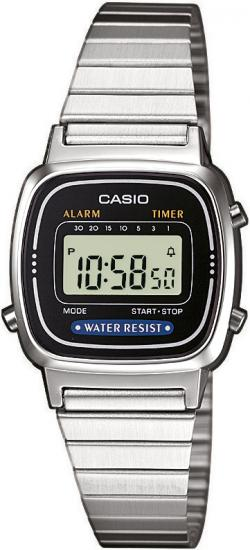 CASIO LA 670WEA-1 - dámske hodinky Casio 1f6039badfa