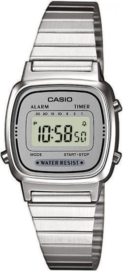 CASIO LA 670WEA-7 - dámske hodinky Casio 68aa6cf181f