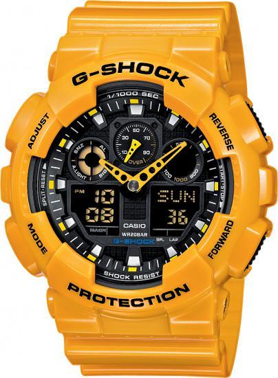 CASIO GA 100A-9A G-Shock + Darček zväčšiť obrázok e04176e87fc