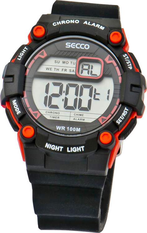 0a91c3f03b4 Chlapčenské športové hodinky SECCO S DNS-006 zväčšiť obrázok