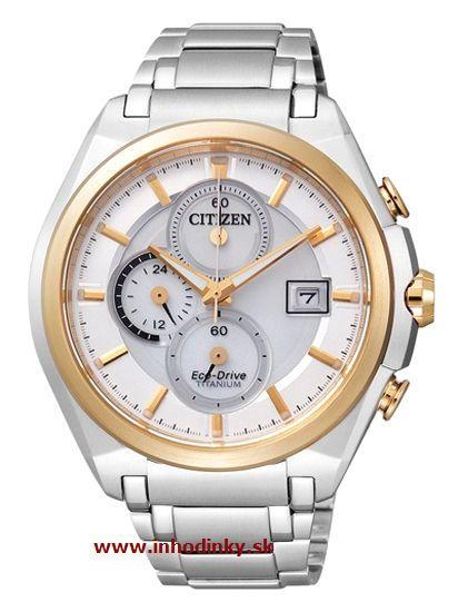 AkciaDoprava zdarmaSkladom. Pánske hodinky CITIZEN CA0355-58A Eco-Drive  Chrono Titanium ... cd94bc2a6bb