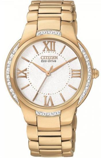 Dámske hodinky CITIZEN EM0093-59A Diamonds ECO DRIVE