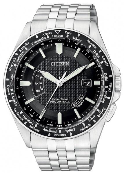 CITIZEN CB0021-57E ECO-DRIVE Radio Controlled - pánske hodinky CITIZEN.   a0b25cefd4a