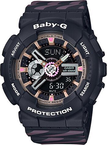 cbaea045e Dámske hodinky CASIO BA 110CH-1A Baby-G Chance zväčšiť obrázok