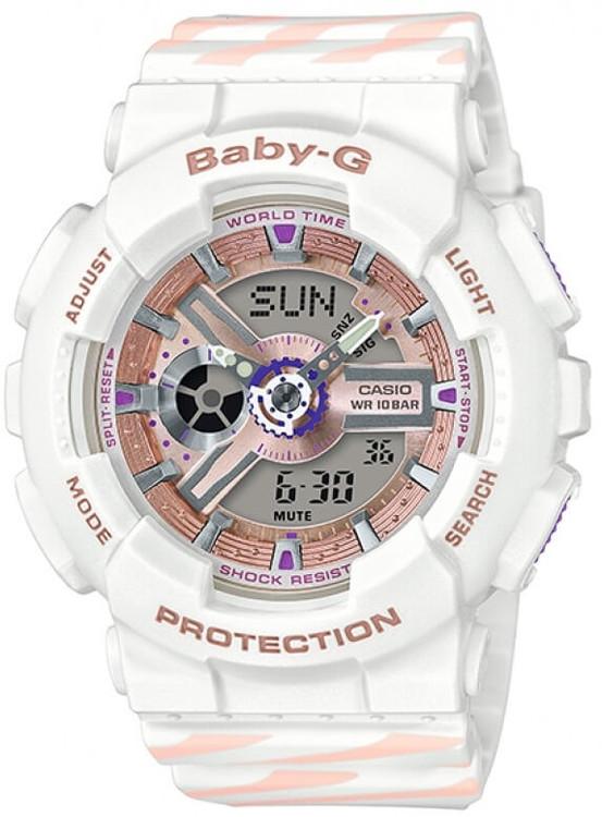 Dámske hodinky CASIO BA 110CH-7A Baby-G Chance zväčšiť obrázok b9c7739cf16