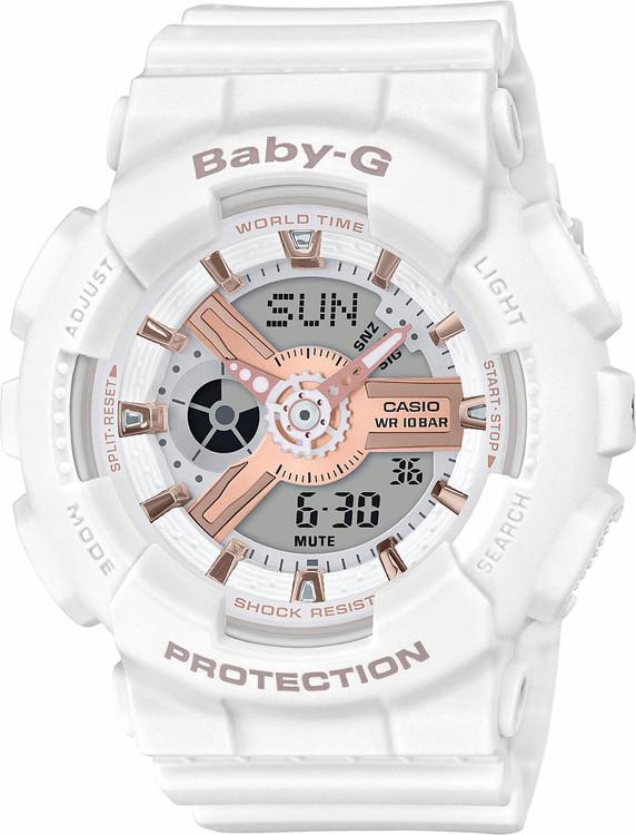 Dámske hodinky CASIO BA 110RG-7A Baby-G zväčšiť obrázok a84675eaa39