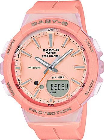 Dámske hodinky CASIO BGS 100-4A Baby-G + darček zväčšiť obrázok 1057af6cbe1