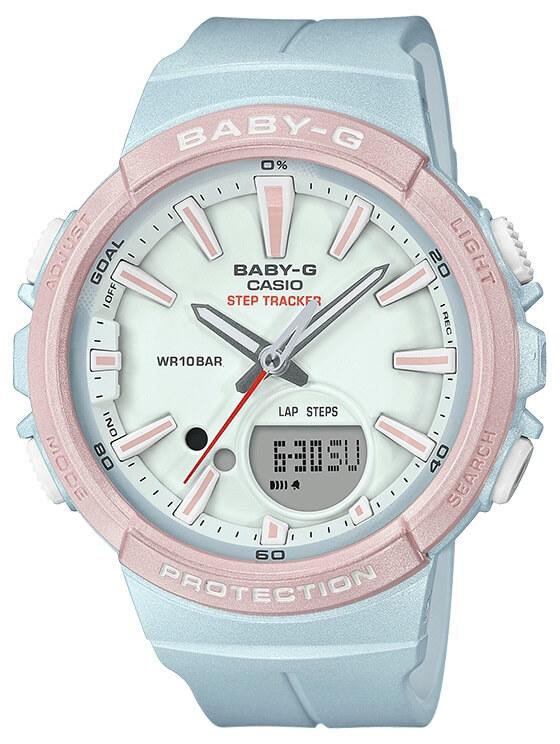 23e5cf21f2b5 Dámske hodinky CASIO BGS 100SC-2A Baby-G Step Tracker zväčšiť obrázok
