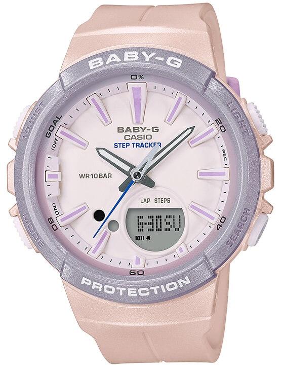 3fb2ec600a09 Dámske hodinky CASIO BGS 100SC-4A Baby-G Step Tracker zväčšiť obrázok