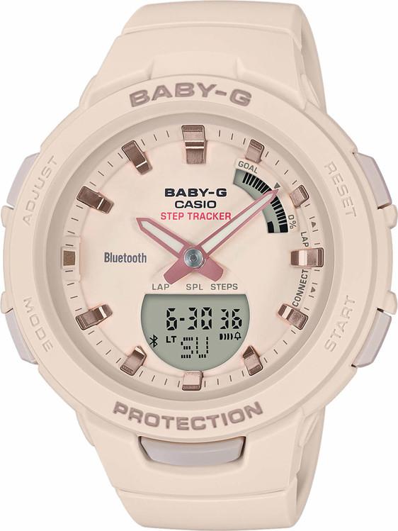 Dámske hodinky CASIO BSA B100-4A1 Baby-G Step Tracker eb935009ddd