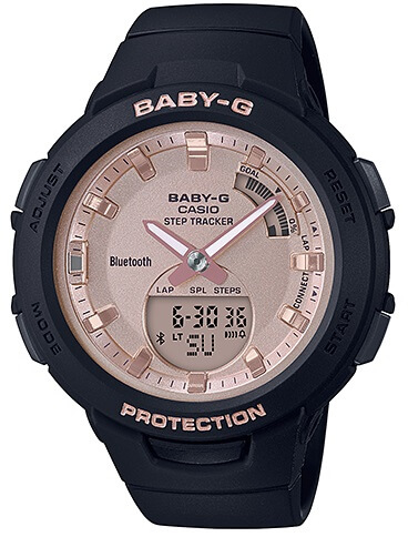 Dámske hodinky CASIO BSA B100MF-1A Baby-G Step Tracker 8ec3062e908