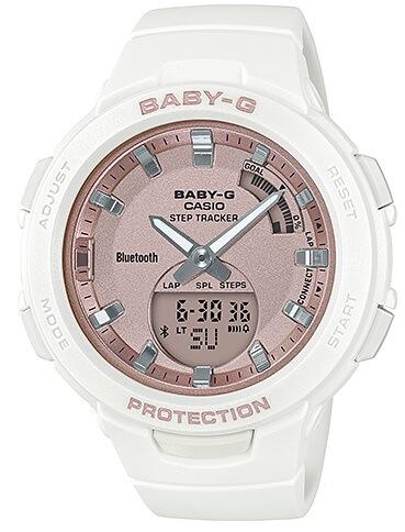 Dámske hodinky CASIO BSA B100MF-7A Baby-G Step Tracker 461cc8e3ea8