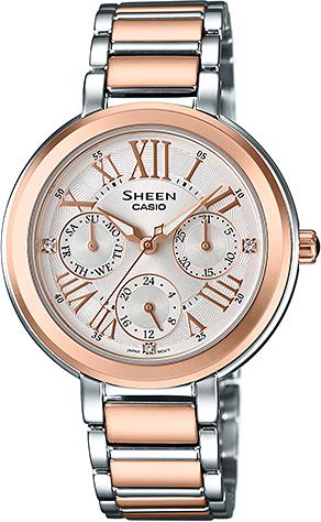 Dámske hodinky CASIO SHE 3034SPG-7A SHEEN + Darček na výber zväčšiť obrázok 9ea4b24e99
