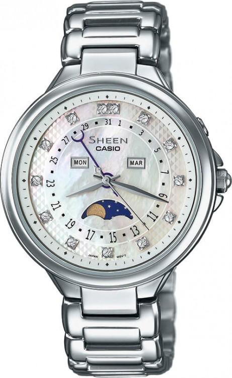 Dámske hodinky CASIO SHE 3044D-7A SHEEN + Darček na výber zväčšiť obrázok 4c872e46a8