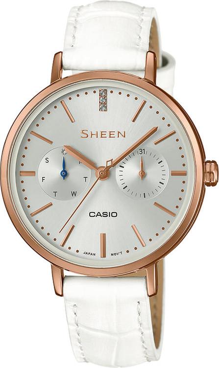 524d1a0d58 Dámske hodinky CASIO SHE 3054PGL-7A SHEEN Swarovski® Crystals + Darček  zväčšiť obrázok