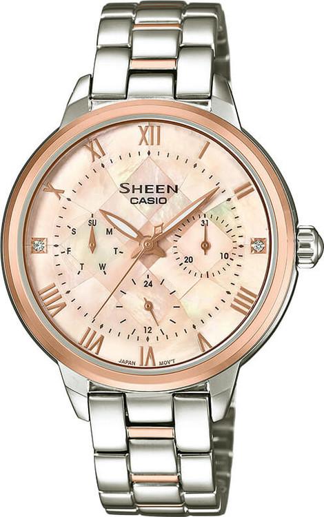Dámske hodinky CASIO SHE 3055SPG-4A SHEEN zväčšiť obrázok 37e79eeec7f