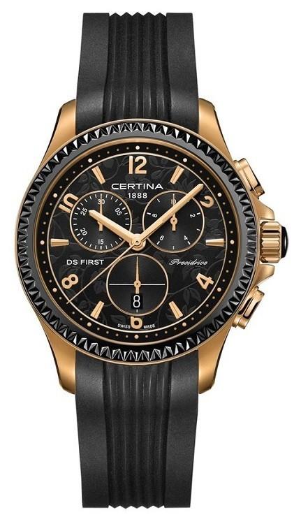 Dámske hodinky Certina C030.217.37.057.00 DS First Lady Chronograph +  darček na výber zväčšiť obrázok cb42e6ae5de