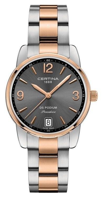 Dámske hodinky Certina C034.210.22.087.00 DS Podium Lady Precidrive +  darček na výber zväčšiť obrázok 11cdc8ba7cf